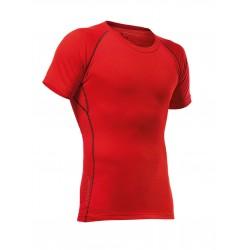 Maglietta maniche corte PFANNER MERINO SHIRT SHORT SLEEVED  rossa