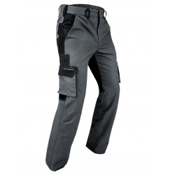 Pantalone da lavoro PFANNER STRETCHZONE SPIRIT PANTS -  Grigio/Nero
