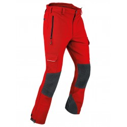 Pantalone Tecnico PFANNER GLOBE OUTDOOR PANTS Rosso