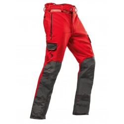Pantaloni antitaglio PFANNER ARBORIST CHAINSAW PROTECTION Rossi