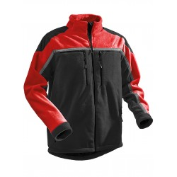 Giacca Foderata PFANNER JOBBY COLOUR FLEECE JACKET  Rossa Nera