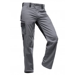 Pantalone da lavoro PFANNER STRETCHFLEX CANFULL PANTS Grigio/nero