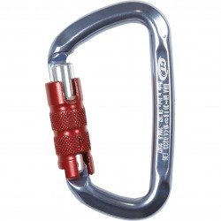 Moschettone con ghiera CT CLIMBING TECHNOLOGY D-SHAPE TG