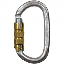 Moschettone con ghiera CT CLIMBING TECHNOLOGY PILLAR STEEL TG