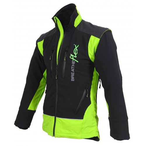BREATHEFLEX JACKET BLACK LIME