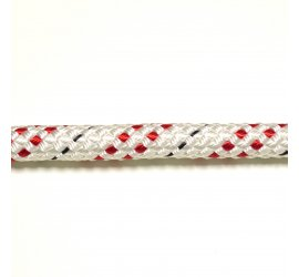Corda da Abbattimento MARLOW DRACO 16 mm Bianco Rosso