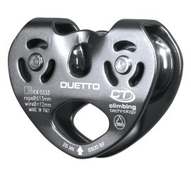 Carrucola doppia in linea CT CLIMBING TECHNOLOGY DUETTO
