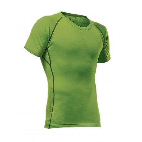 Maglietta maniche corte PFANNER MERINO SHIRT SHORT SLEEVED  verde